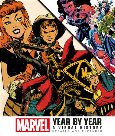 Marvel Year by Year by Peter Sanderson