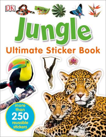 Ultimate Sticker Book: Jungle by DK