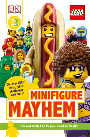 DK Readers Level 3: LEGO Minifigure Mayhem