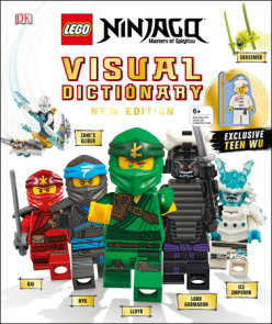 LEGO NINJAGO Visual Dictionary, New Edition