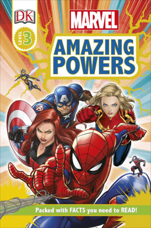 Marvel Amazing Powers [RD3] by Catherine Saunders and DK