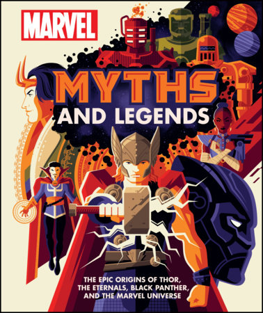 Marvel Myths and Legends by James Hill