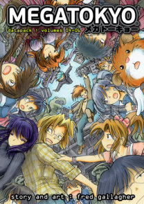 Megatokyo Omnibus Volume 2