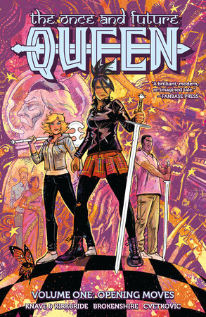 The Once and Future Queen by Adam P. Knave and DJ Kirkbride