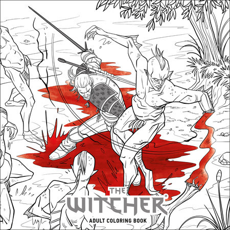 The Witcher Adult Coloring Book by CD Projekt Red | PenguinRandomHouse.com:  Books