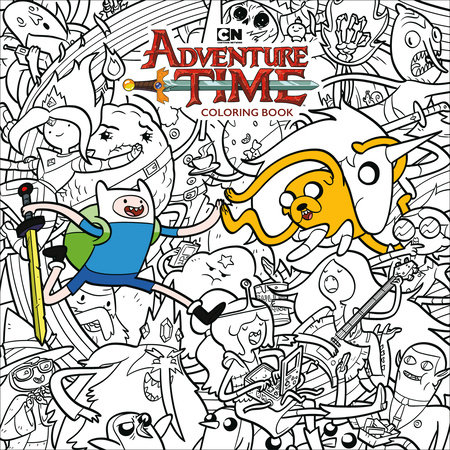 Adventure Time Adult Coloring Book Volume 1 By Cartoon Network Penguinrandomhouse Com Books