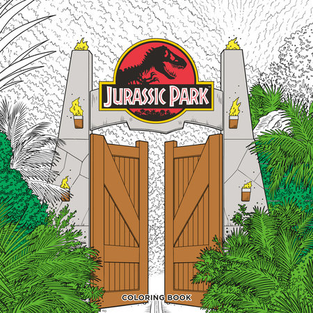 Jurassic Park Adult Coloring Book by Universal Studios