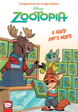 Disney Zootopia: Hard Day's Work (Younger Readers Graphic Novel) by Jimmy Gownley