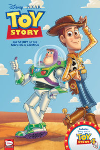 Disney·PIXAR Toy Story 1-4: The Story of the Movies in Comics
