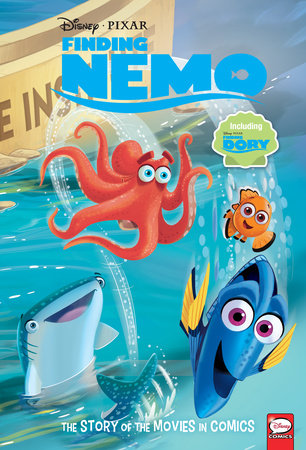 Disney/PIXAR Finding Nemo and Finding Dory: The Story of the Movies in Comics by Alessandro Ferrari and Charles Bazaldua