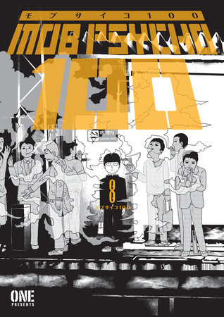 Mob Psycho 100 Volume 8 by ONE