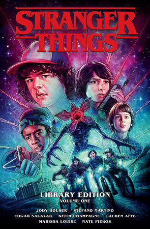 Stranger Things Library Edition Volume 1 by Jody Houser