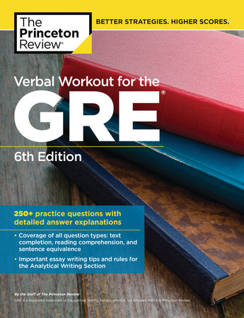 Verbal Workout for the GRE, 6th Edition by The Princeton Review