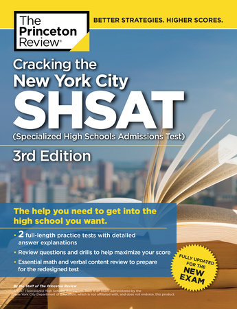 image regarding Shsat Practice Test Printable identify Cracking the Refreshing York Metropolis SHSAT (Technological Significant Educational institutions Admissions Consider), 3rd Model as a result of The Princeton Research : Textbooks