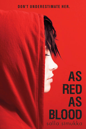 Image result for as red as blood by salla simukka