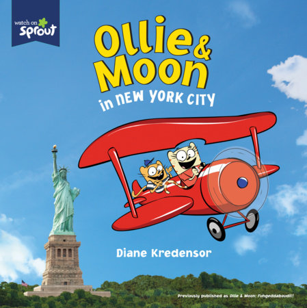 Ollie & Moon in New York City by Diane Kredensor