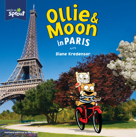 Ollie & Moon in Paris by Diane Kredensor