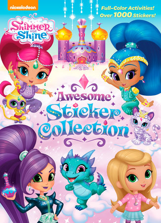 Shimmer and Shine Awesome Sticker Collection (Shimmer and Shine) by Golden Books