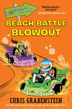 Welcome to Wonderland #4: Beach Battle Blowout by Chris Grabenstein