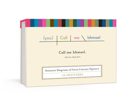 Call Me Ishmael Postcards by Pop Chart Lab
