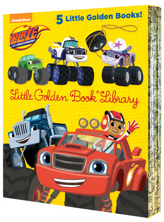 Blaze and the Monster Machines Little Golden Book Library (Blaze and the Monster Machines) by Various