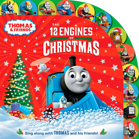 The 12 Engines of Christmas (Thomas & Friends) by Random House