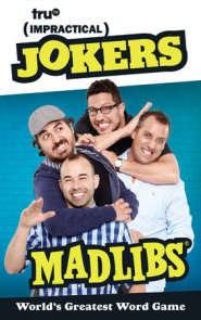 Impractical Jokers Mad Libs