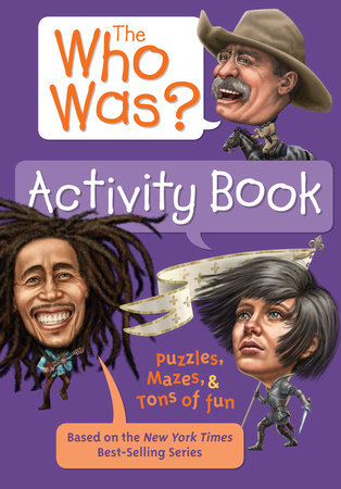 The Who Was? Activity Book by Jordan London and Who HQ
