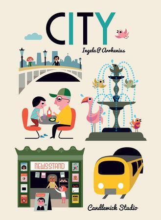 City by Ingela P Arrhenius