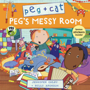 Peg + Cat: Peg's Messy Room