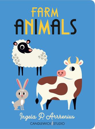 Farm Animals by Ingela P Arrhenius