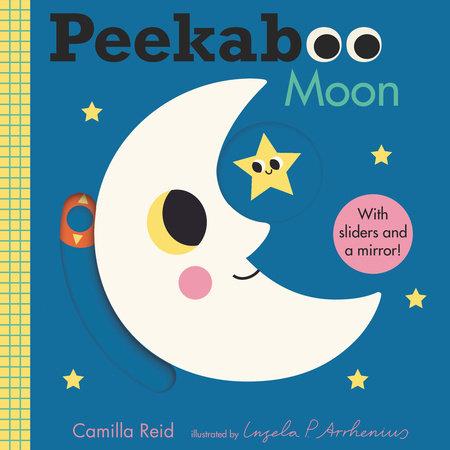 Peekaboo: Moon by Camilla Reid