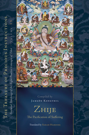 Zhije: The Pacification of Suffering by Jamgon Kongtru Lodro Taye