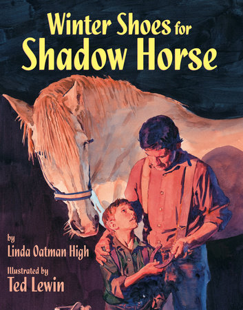 Winter Shoes for Shadow Horse by Linda Oatman High