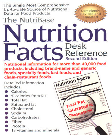 The NutriBase Nutrition Facts Desk Reference by Art Ulene