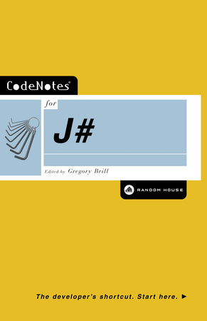 CodeNotes for J# by