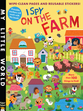 I Spy on the Farm by Jonathan Litton