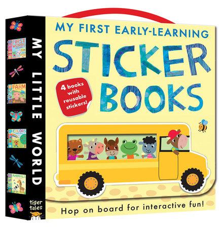 My First Early-Learning Sticker Books by Jonathan Litton