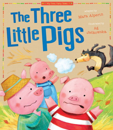 Three Little Pigs by Tiger Tales
