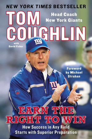 Earn the Right to Win by Tom Coughlin and David Fisher