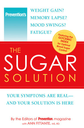 Prevention The Sugar Solution by Editors Of Prevention Magazine and Ann Fittante