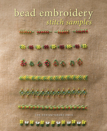 Bead Embroidery Stitch Samples by CRK Design and Yasuko Endo