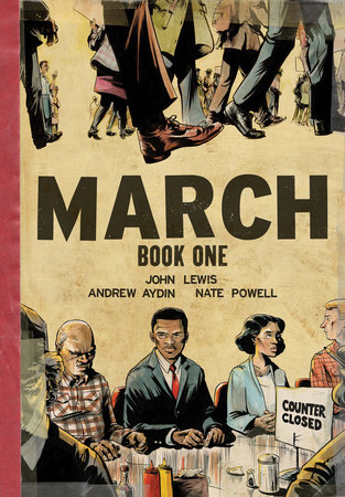 March: Book One (Oversized Edition) by John Lewis and Andrew Aydin