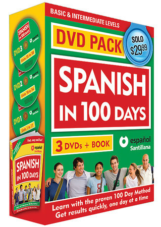 Spanish in 100 Days DVD PK / Spanish in 100 days DVD Pack by Spanish In 100 Days