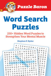 Puzzle Baron's Word Search Puzzles
