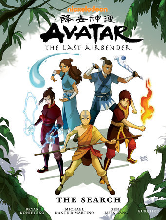 Avatar: The Last Airbender - The Search Library Edition by Gene Luen Yang