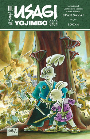 Usagi Yojimbo Saga Volume 4 by Stan Sakai