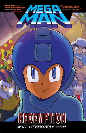 "Mega Man 8: Redemption by Ian Flynn, Illustrated by Patrick ""SPAZ"" Spaziante"
