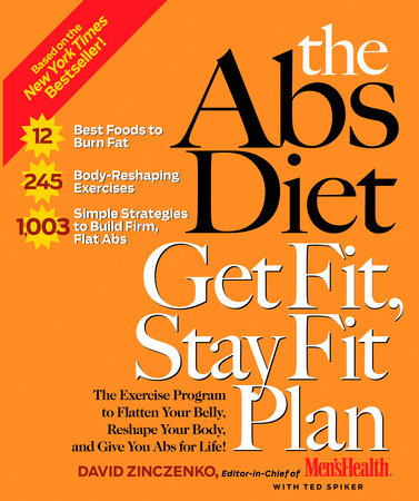 The Abs Diet Get Fit, Stay Fit Plan by David Zinczenko and Ted Spiker