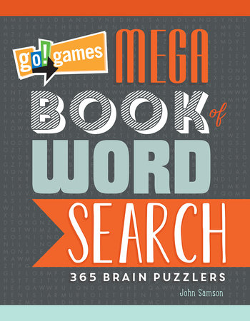 Go!Games Mega Book of Word Search by John M. Samson